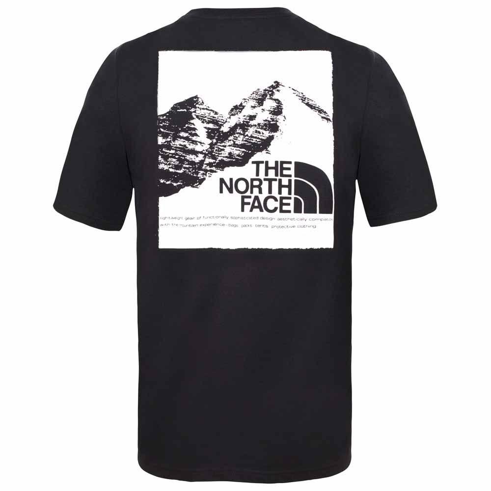 Manga Gráfico Camiseta Corta Face The De Con North w7Uq7xnB1F