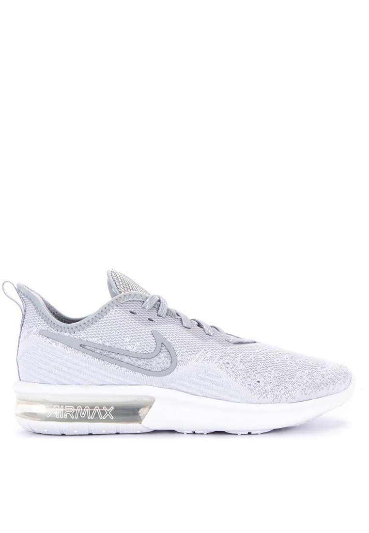 Nike Max White Air 4 Sports Shoes Sequent Women rWr4z5q