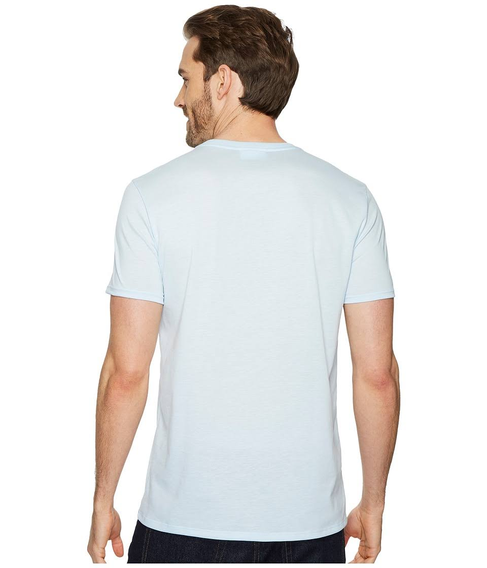 t Aus shirt Kurzarm Pima Th6710 ausschnitt Mit V Lacoste Herren jersey q4w0U0E
