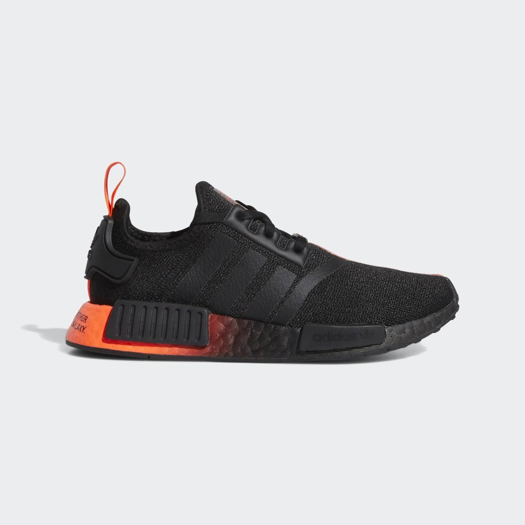 Adidas NMD_R1 Star Wars Shoes - Black - Kids