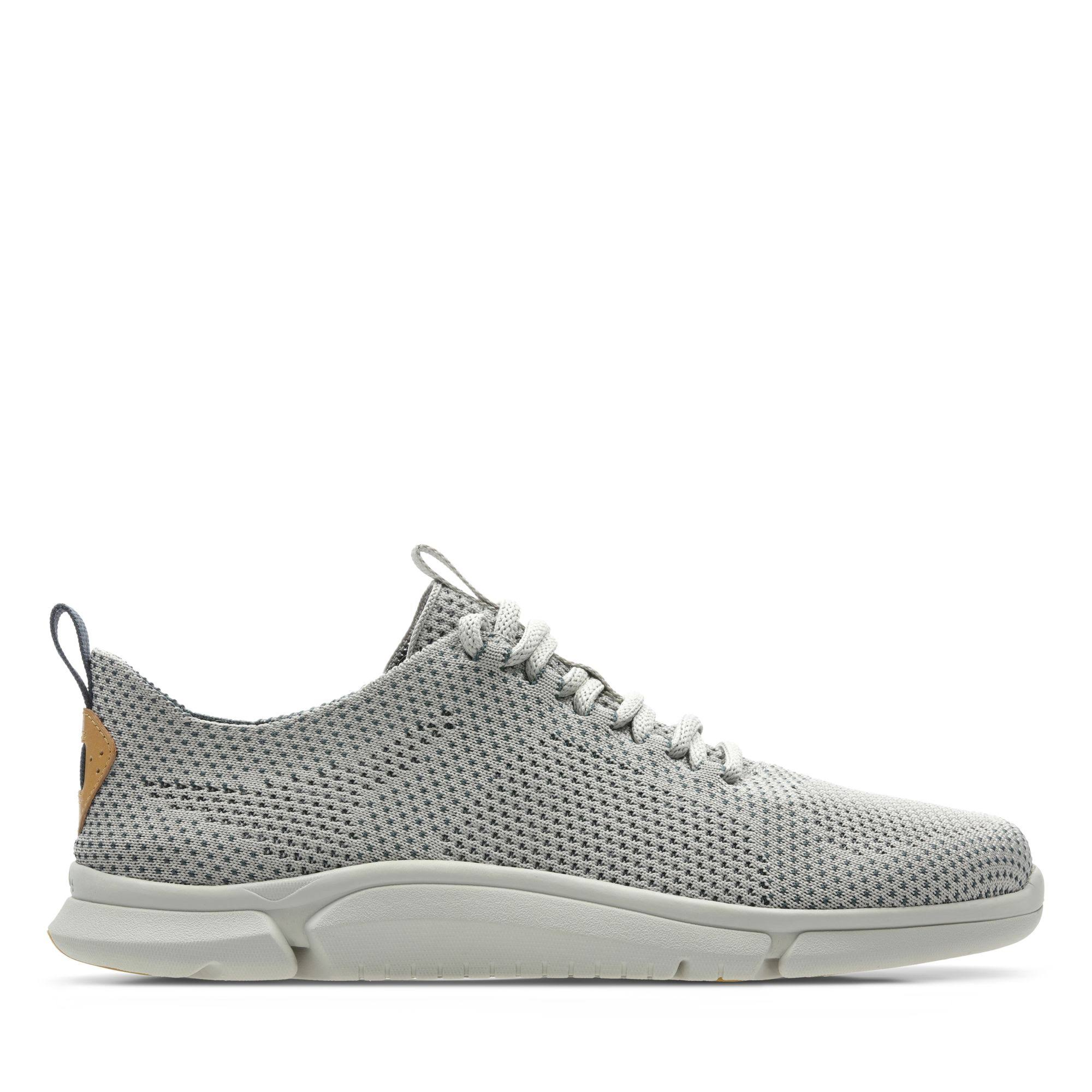 Taglia Grey Mens Triken Di Ruze Clarks 9 Run Leather Shoes OkXPuZiT
