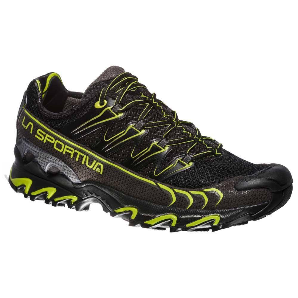 46 Applegreen De Zapatillas La Mountain Running Raptor Black Lime Ultra Sportiva f77gOz1