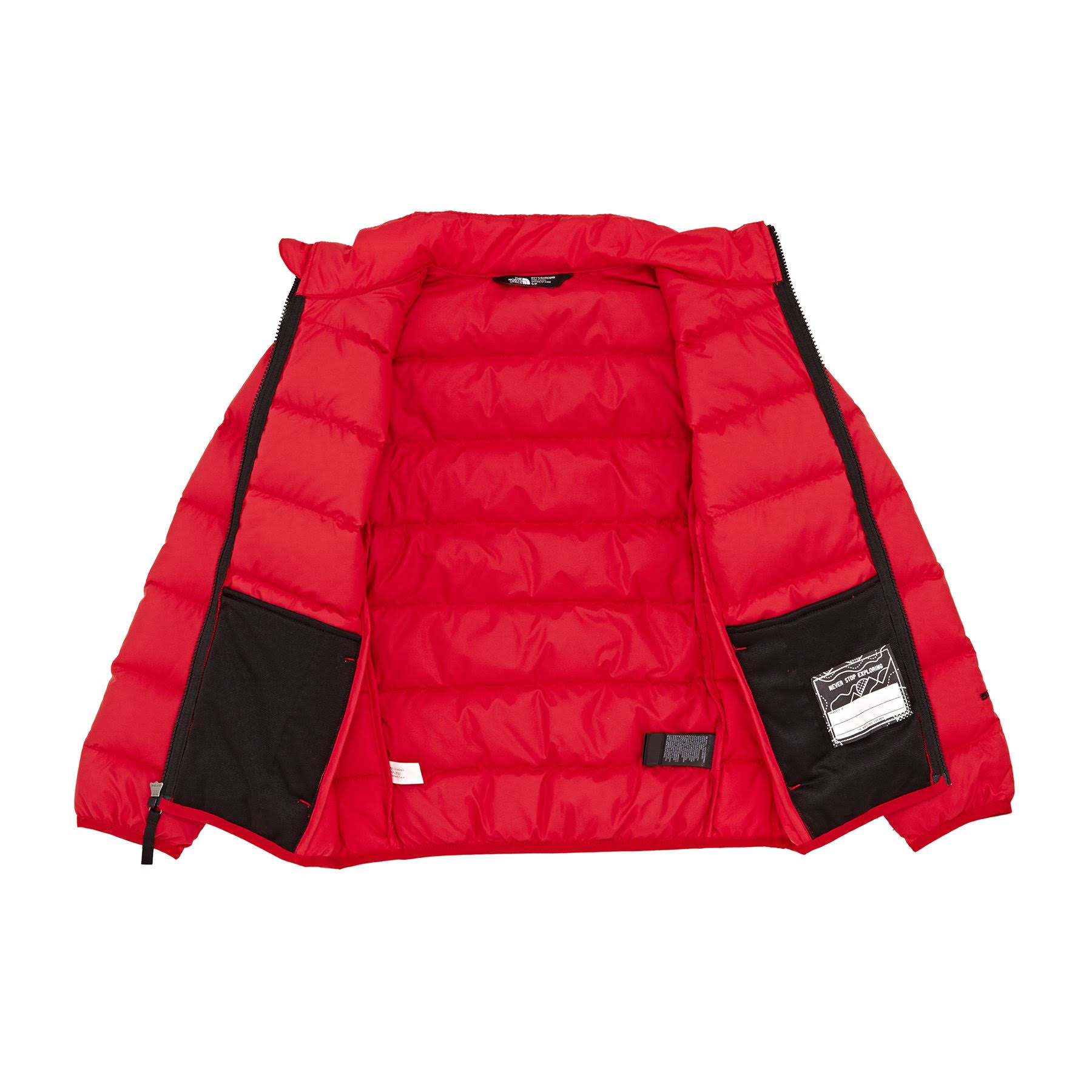 Black Tnf Anden Daunenjacke North Face Red Nf00chq6 Jungen The Y6xUzqw8c