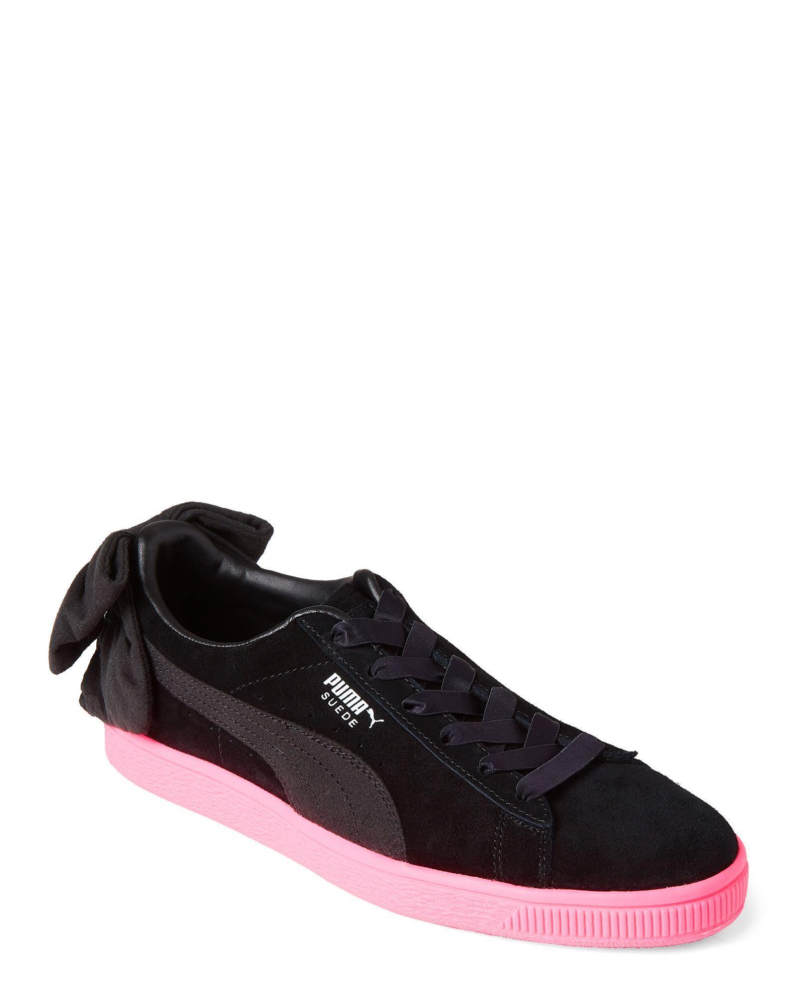 Niedrige Sneakers Wildleder Schwarze Mit 11 Aus Puma 10med Schleife A1qwB5q