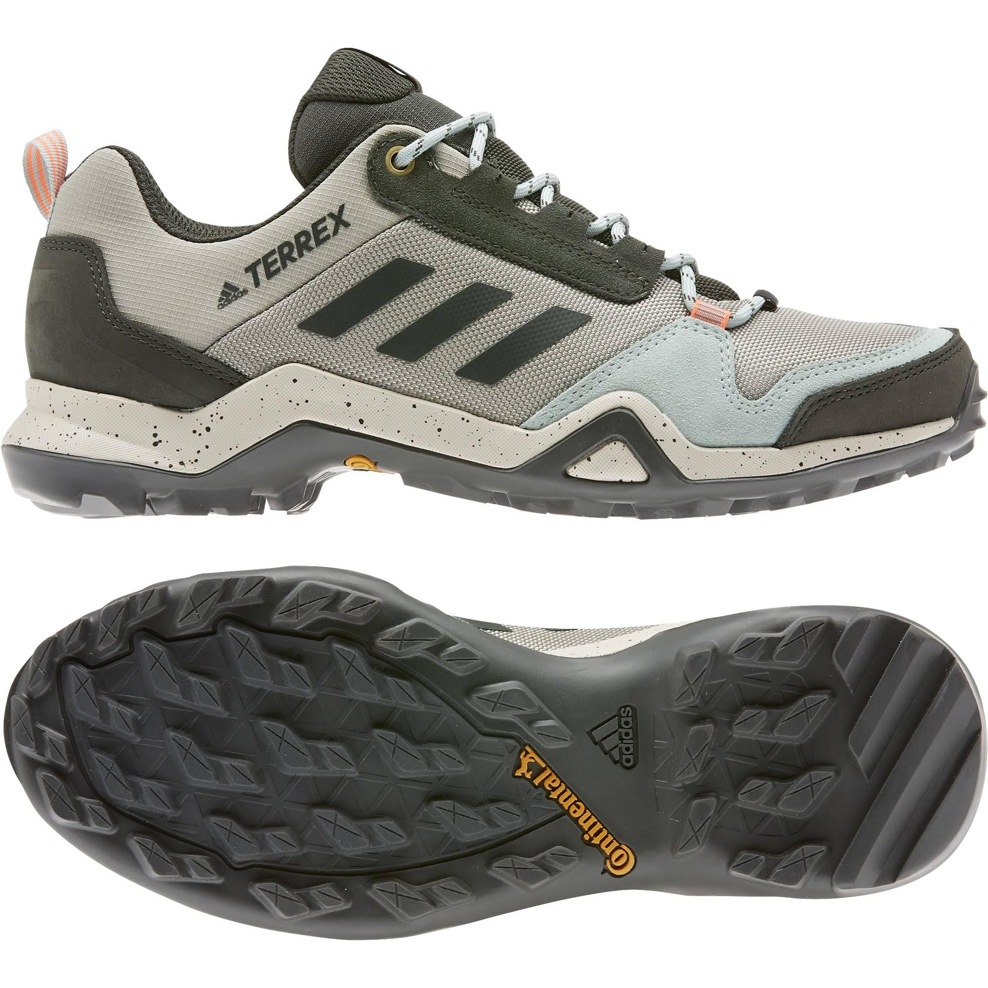 Adidas Terrex AX3 Women's Walking Shoes - Grey - 7.5