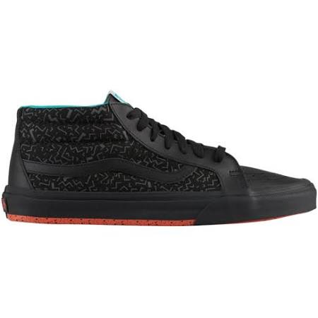 9 Vans Mid Sk8 Size Mens Shoes Black wxqFP8ZpY