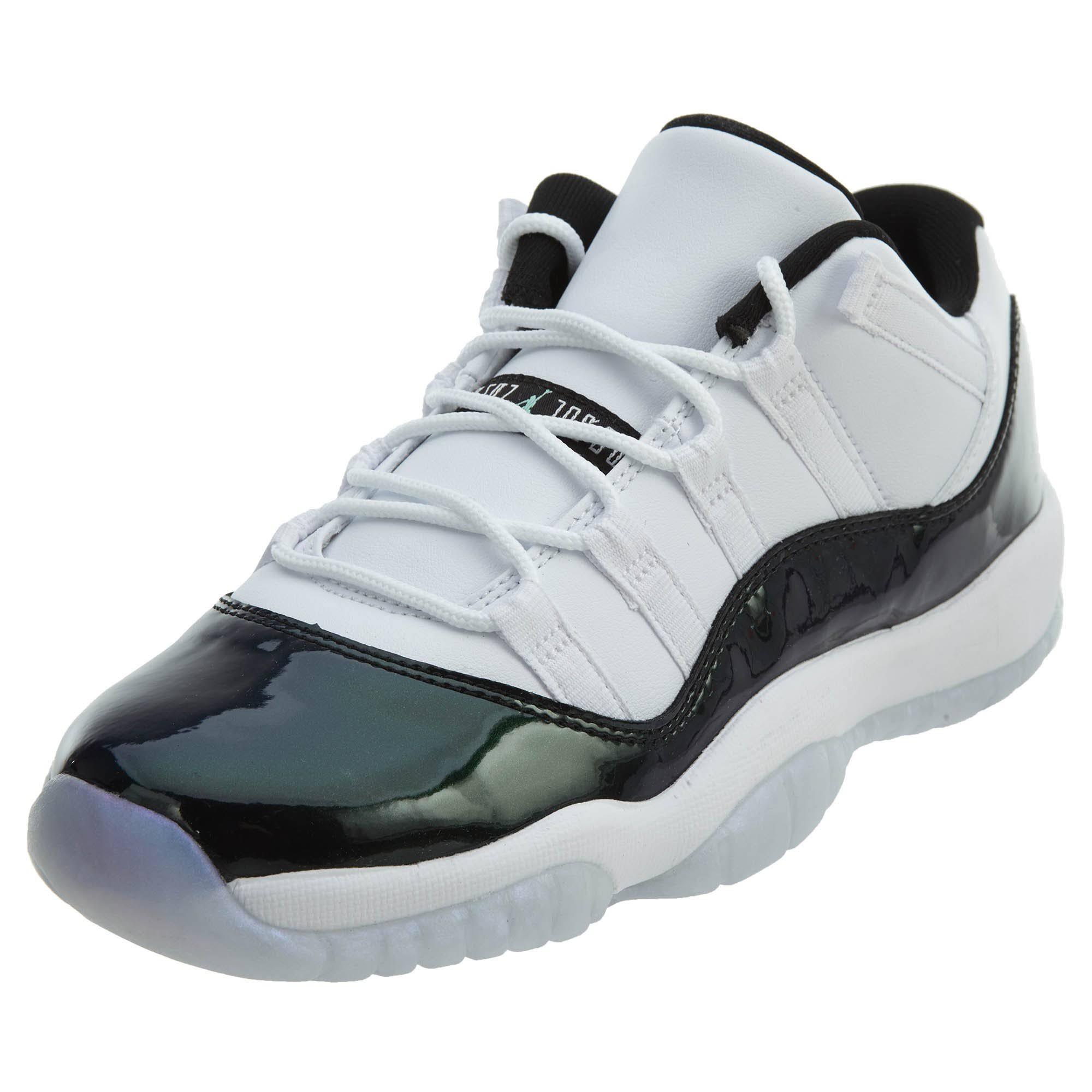 Gs Para Zapatillas Tamaño Jóvenes 4 Negro 5 Jordan Blanco 11 Retro Air Verde TpSYp
