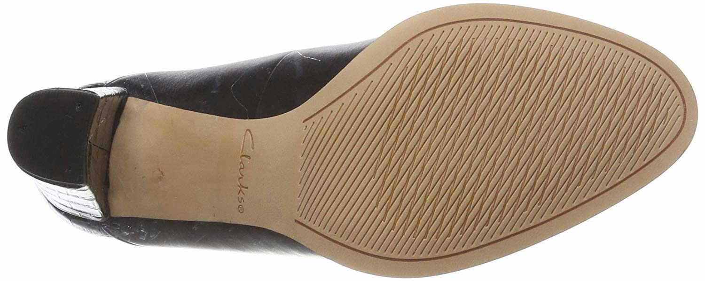 Clarks Womens Shoes-Kaylin Alba-Size: 5 D- Black  l1duS8