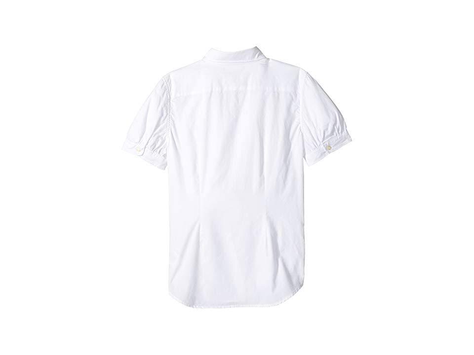 Girls 7 Ralph 16 White Shirt Lauren Childrenswear Oxford wPSyqSYgX