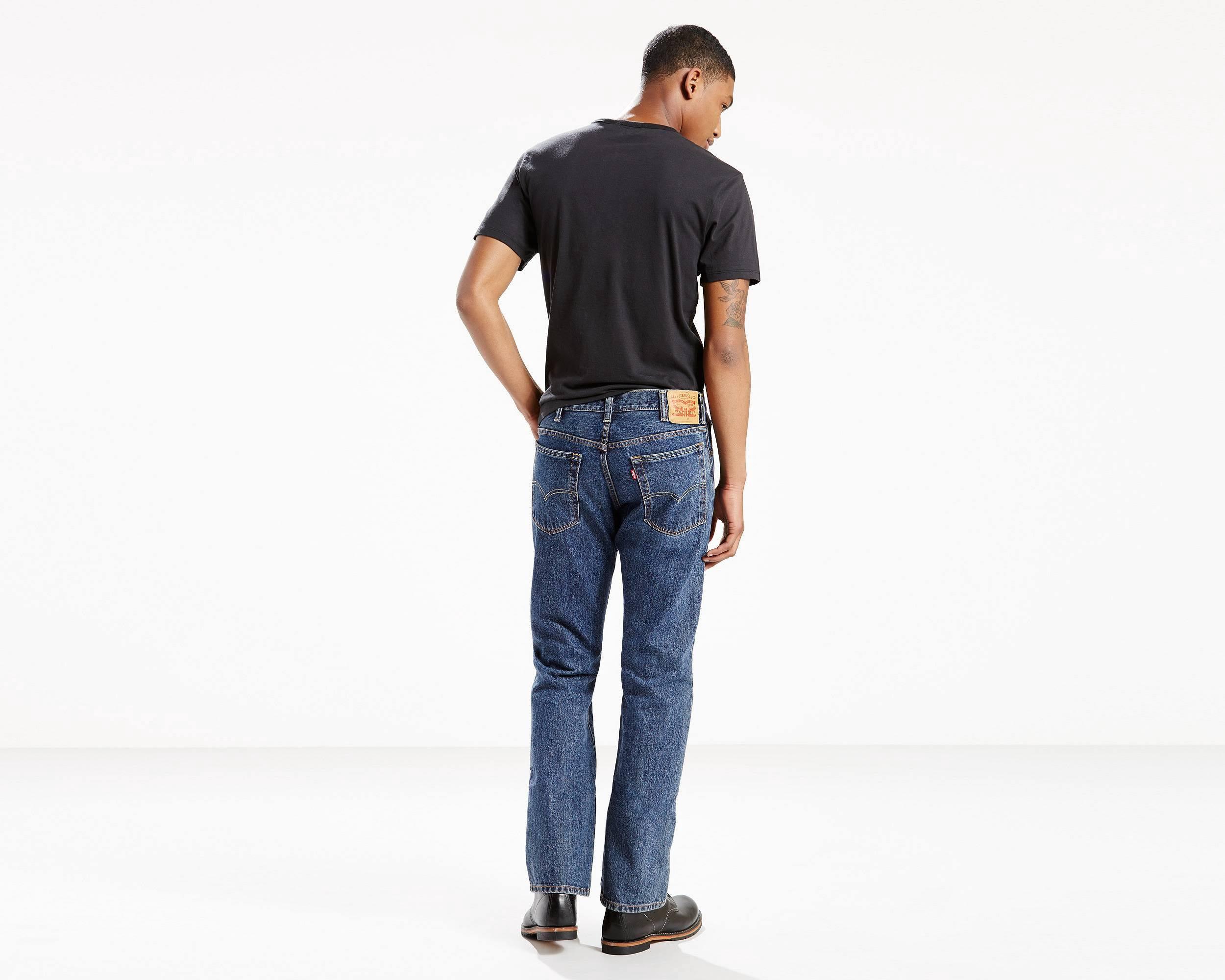 Dark Boot Jeans 35 Cut 517 Stonewash Levi's 34 6cFWPTaqPn