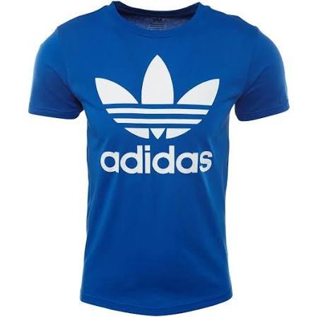 Originales Trefoil Xs Camisetas Adidas Tee Niños Azul dg6tqtnXwx