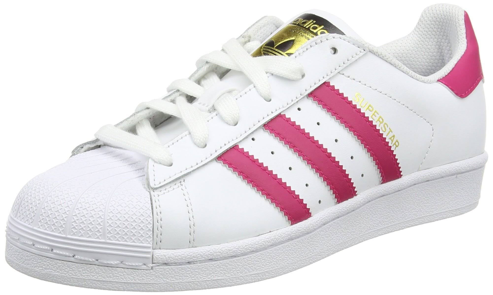 Superstar J Adidas wit Foundation sneakers roze Originals sQdChrt