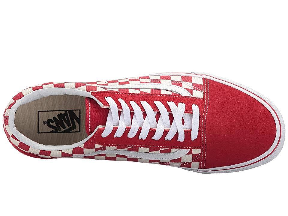 Shoe Check Skate primary Skool Unisex Old Vans Yw70ZABqq