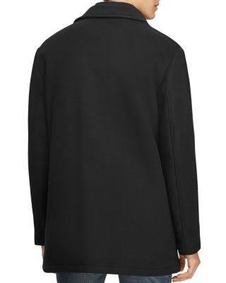 Polo 100 Lauren Charcoal Melton Heather Car Ralph Coat Exclusivo 7rX1Fw7pq