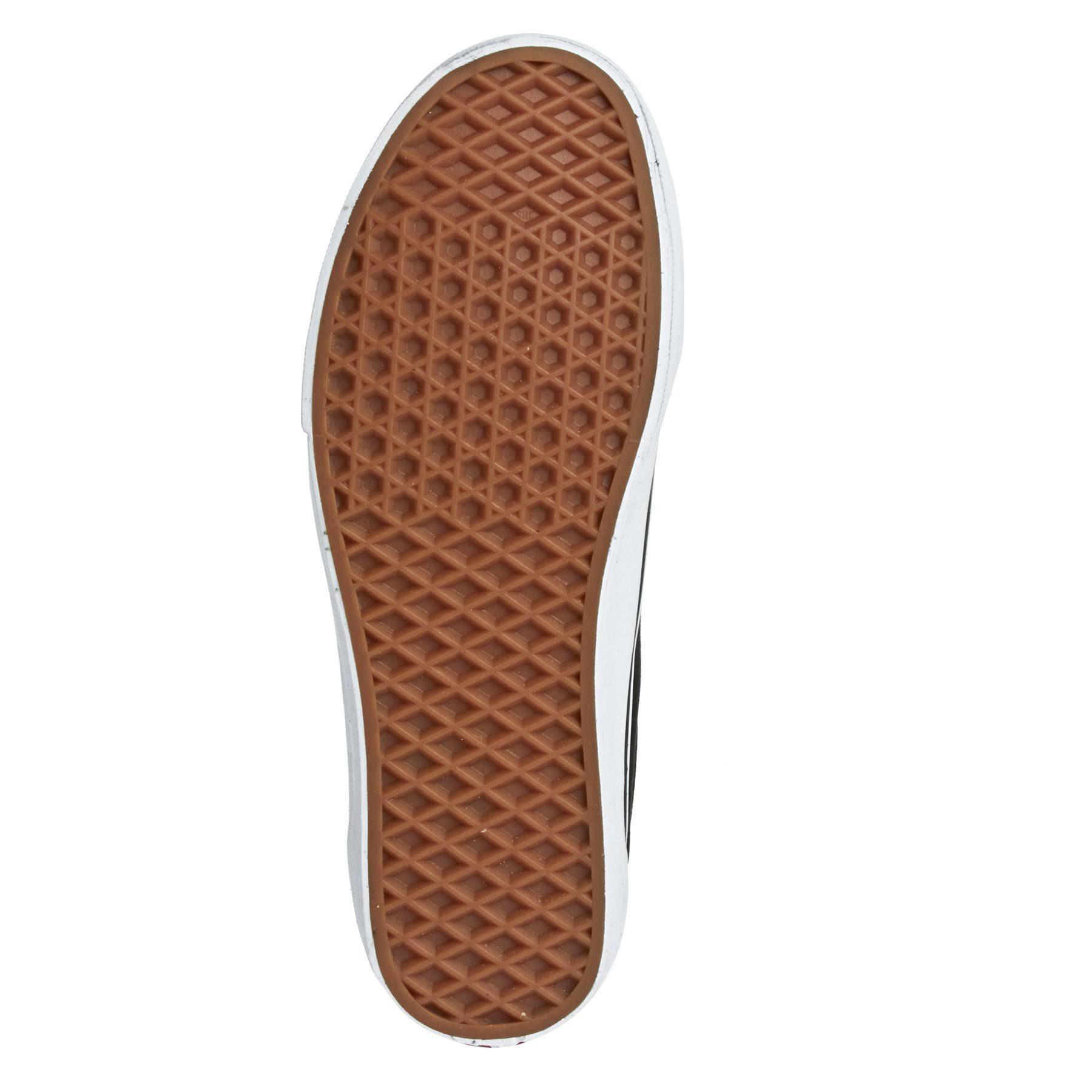 Shoes Hombres Tamaño 9 Original Blanco Negro Classic Old negro Skool Vans qWI0Ex