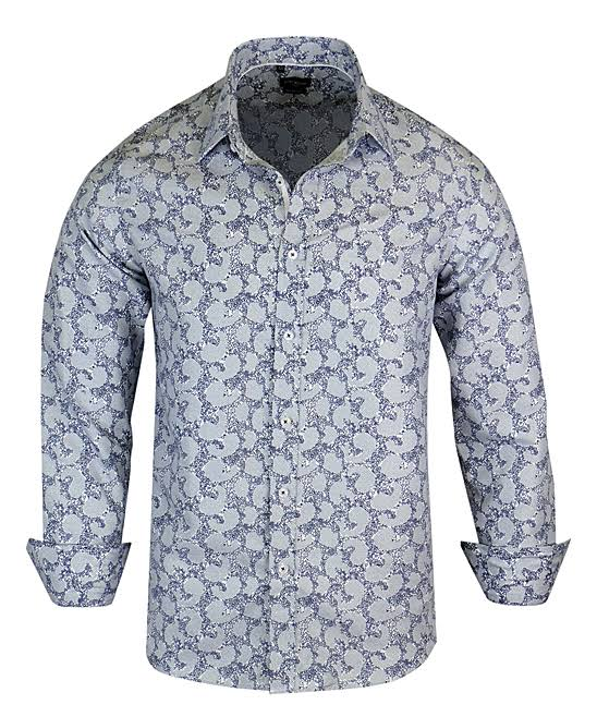 Styles Fashion Milano Moderna Blanca Camisa Rosso Fit M Modern EqZgwOU