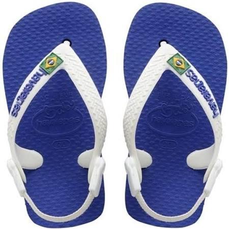 Baby 19 Blau Logo Grösse Havaianas Zehentrenner Flip 21 Kinder marine Brasil Brazilian Eu Für Flops STqSzxw1
