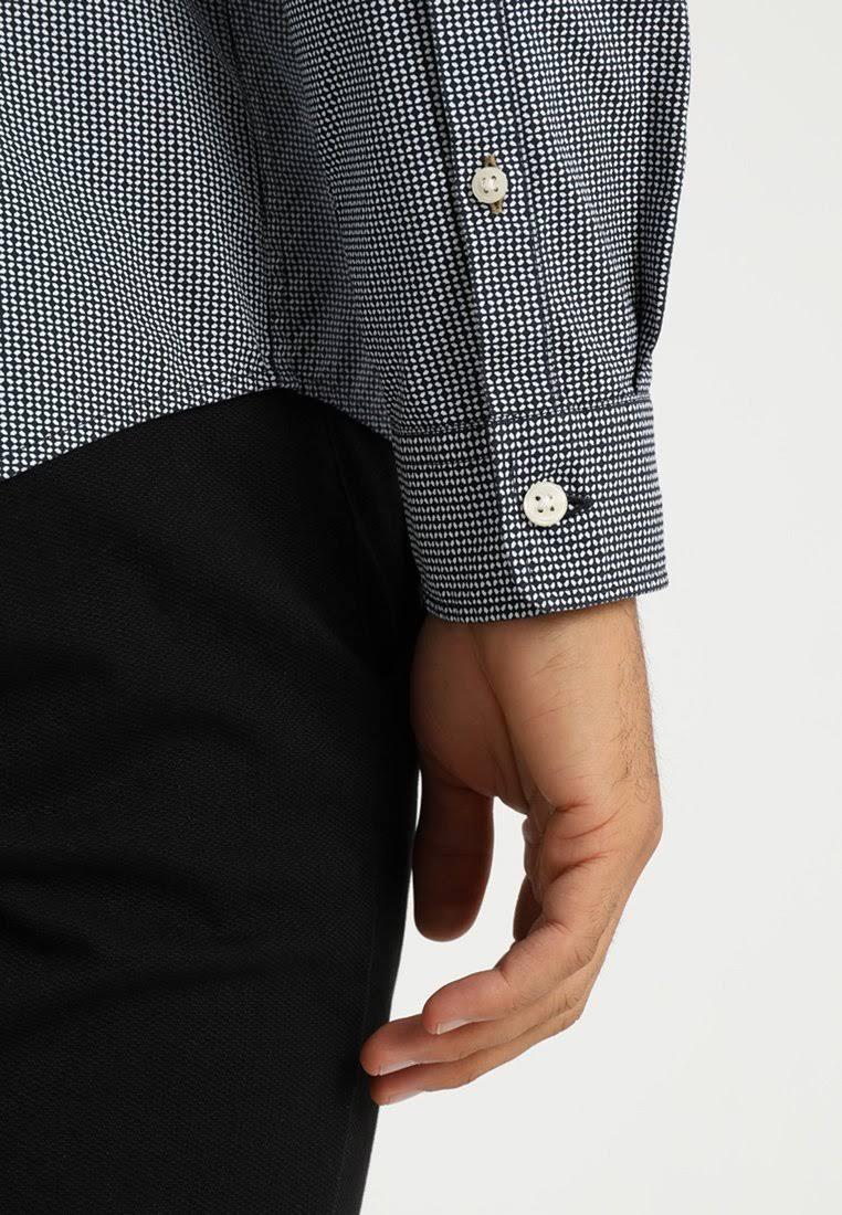 Collection Herren Größe Esprit Lond Hemd Sleeves Navy Xs Poplin Dunkelblau PnfdwqY