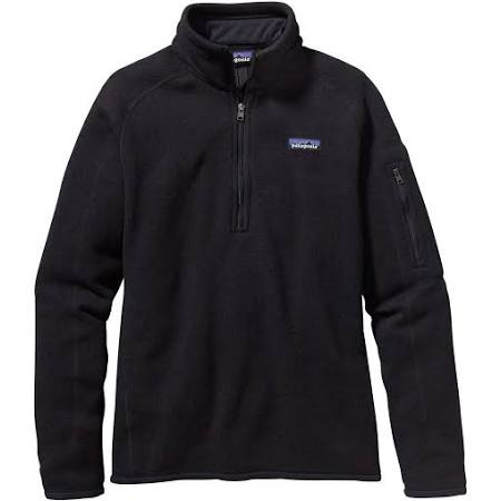 Zip Better 1 Negro 4 Sweater Xs Patagonia Mujer Ix1wdIBq