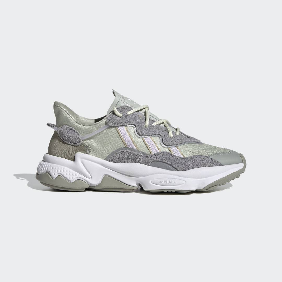 Adidas Originals Ozweego Shoes - Ash Silver - Womens - Trainers