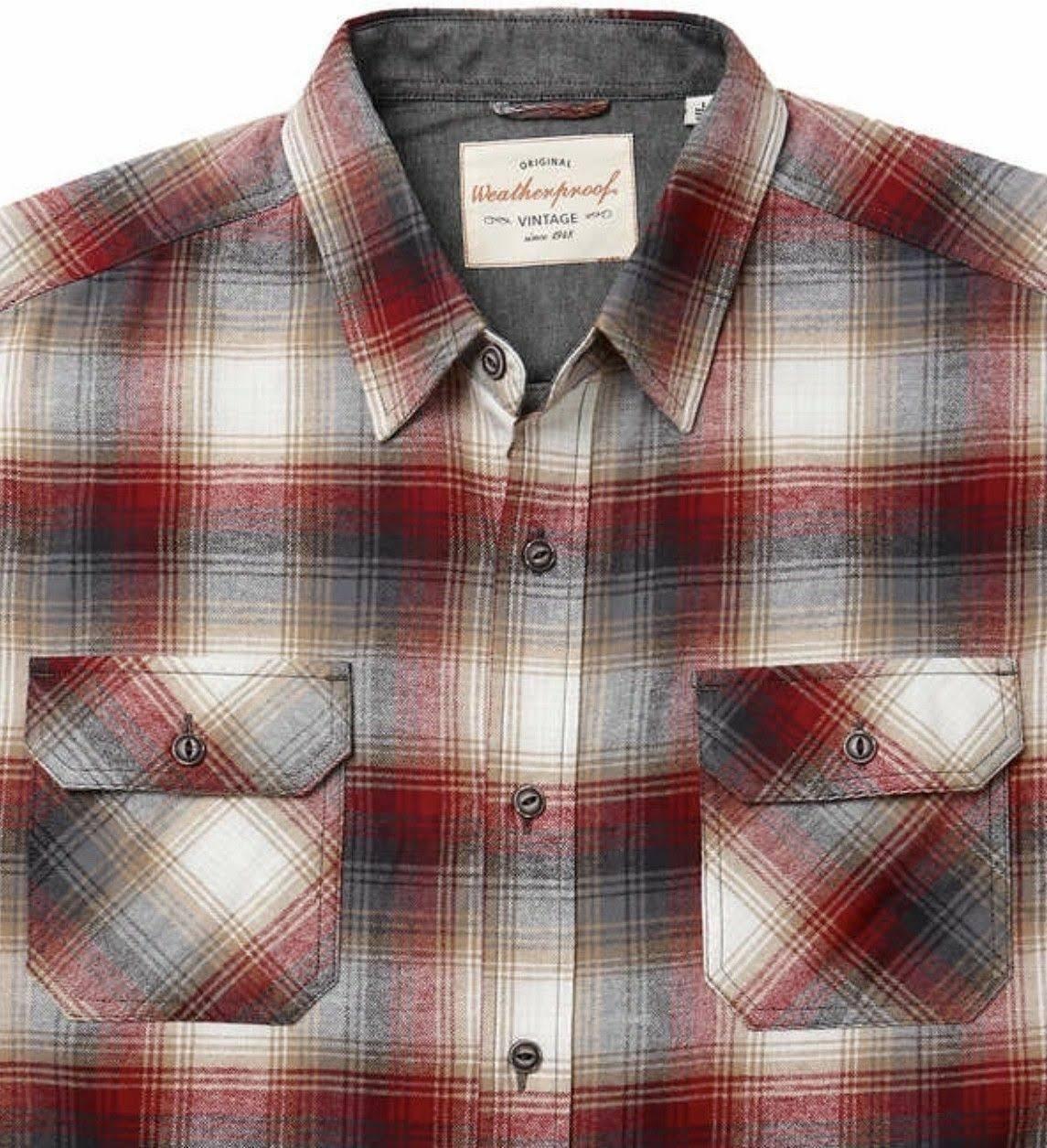Prueba Botones Intemperie A Los De Camisa Franela Con Hombres Bx5w0nPgq