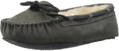 Cally Slipper Medium Womens Minnetonka Grey 11 BZwxqHfHa