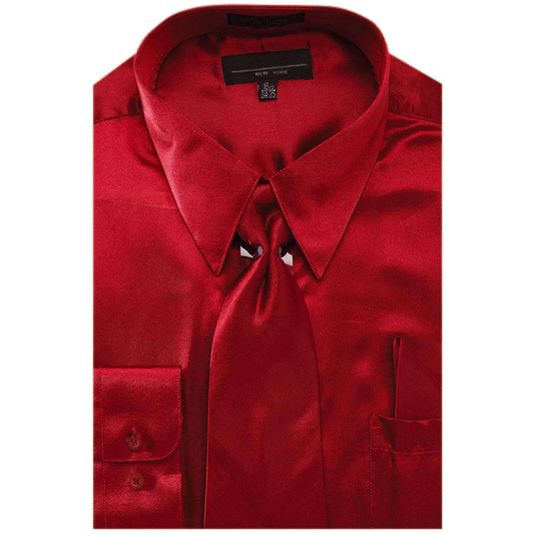 Pañuelo 3536 Ntp En bur Satén ds3012np2 Camisa Y 205 De Vestir Hombres Outlet Burdeos Color Para Liso Sunrise Corbata XTOqw7O