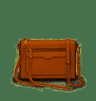 Rebecca Minkoff Avery Crossbody Bag in Tan