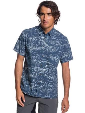 Corta Azul Wind Manga S De Waterman Waves Talla Quiksilver Camisa And Hombres zRqEwc1cWf
