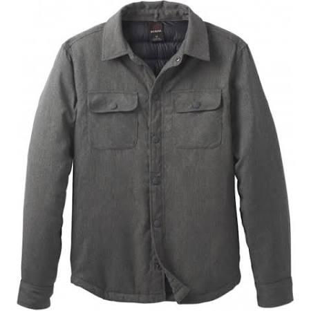 Carbón Showdown chr Para Prana De Xxlarge xxl Leña Jacket Hombre M23170517 6TBxfqw7I