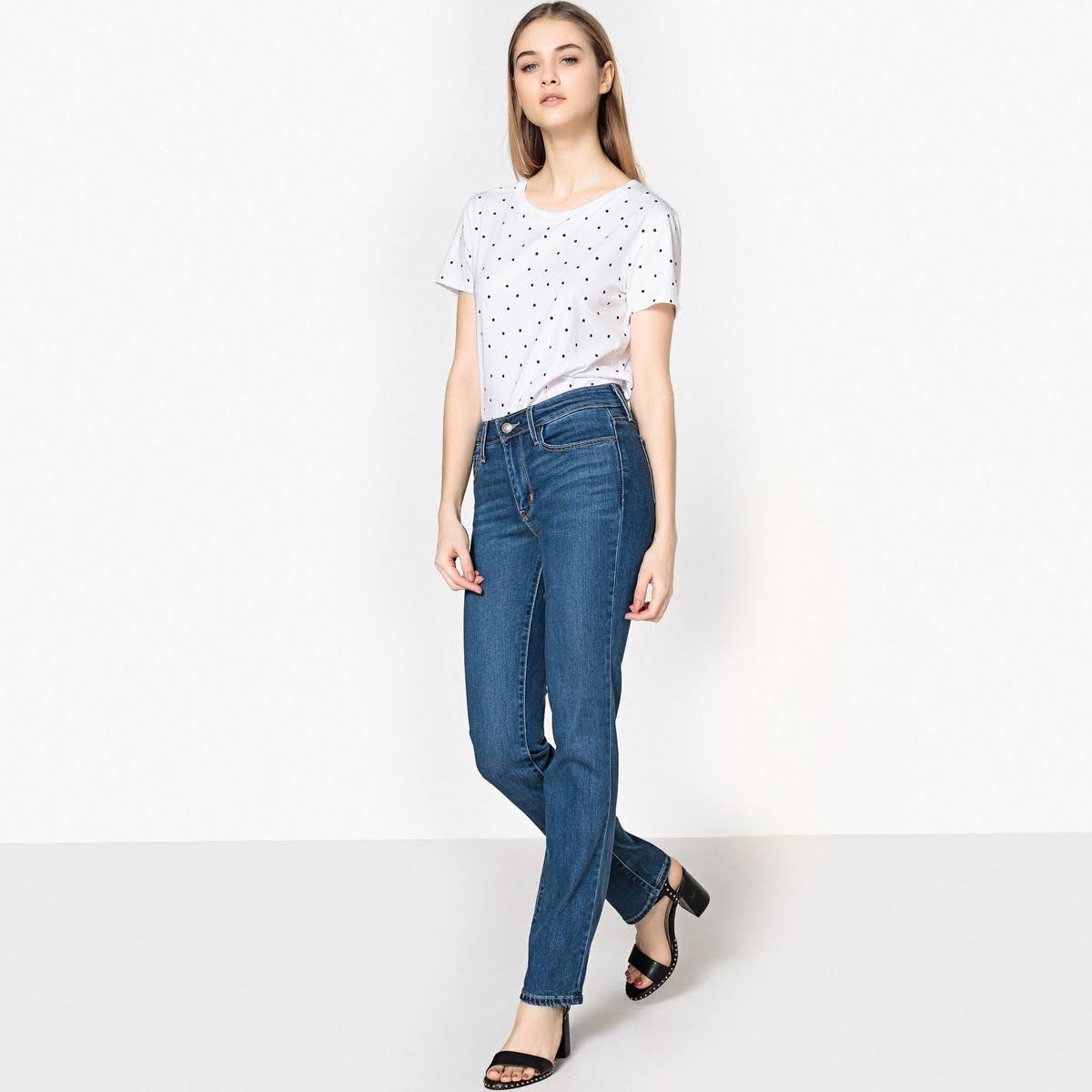 Rinse Jeans Straight Levi's 714 Deadstock AxYwIISq