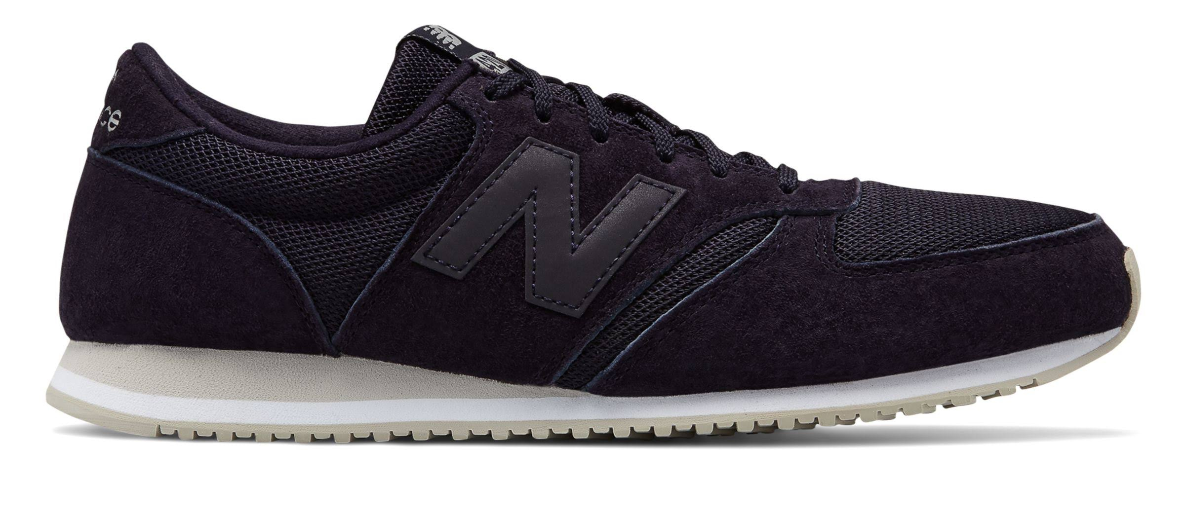 New 5 Blau Sneaker 6 Größe Unisex 420 Navy Balance M Schweinsleder rFr8q