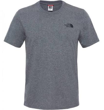 Medio Camiseta Gris Cúpula Heather Simple The North Face Tnf R4nqBn07x