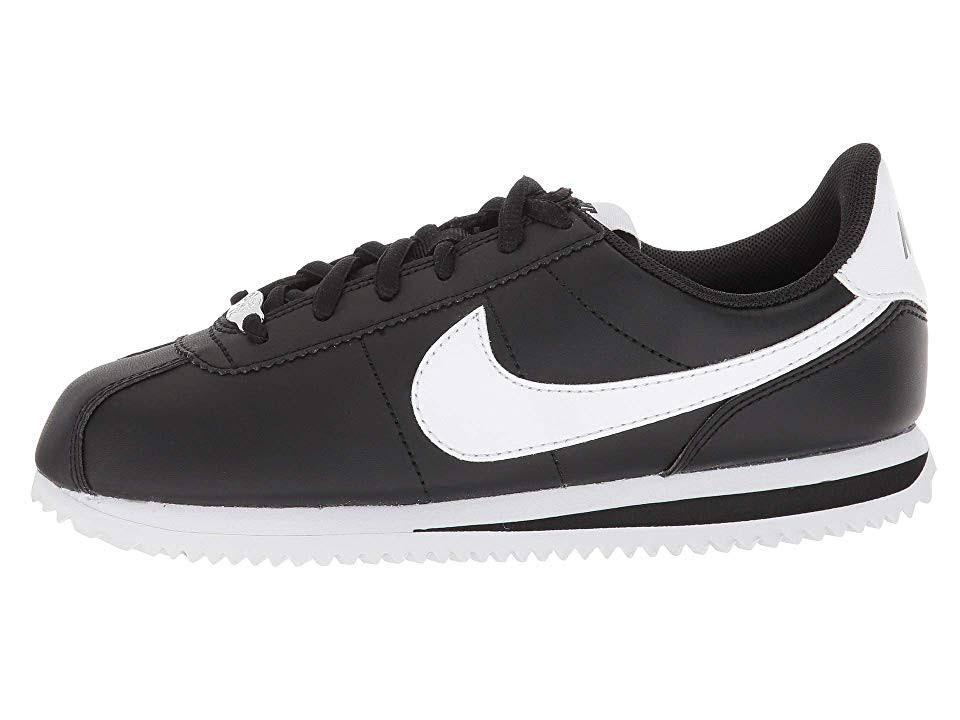 Schwarz Big Nike Größe Cortez blau 5 Kid Sneaker q01x0d