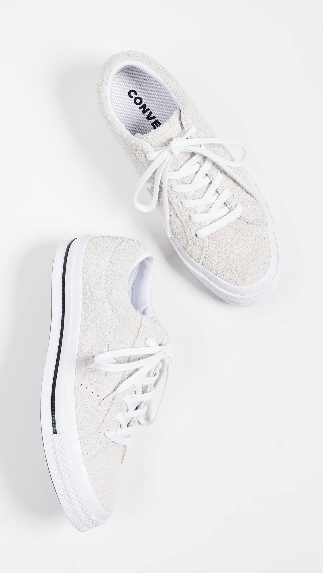 Sneakers Szary Suede Star One White Converse xqSzATn