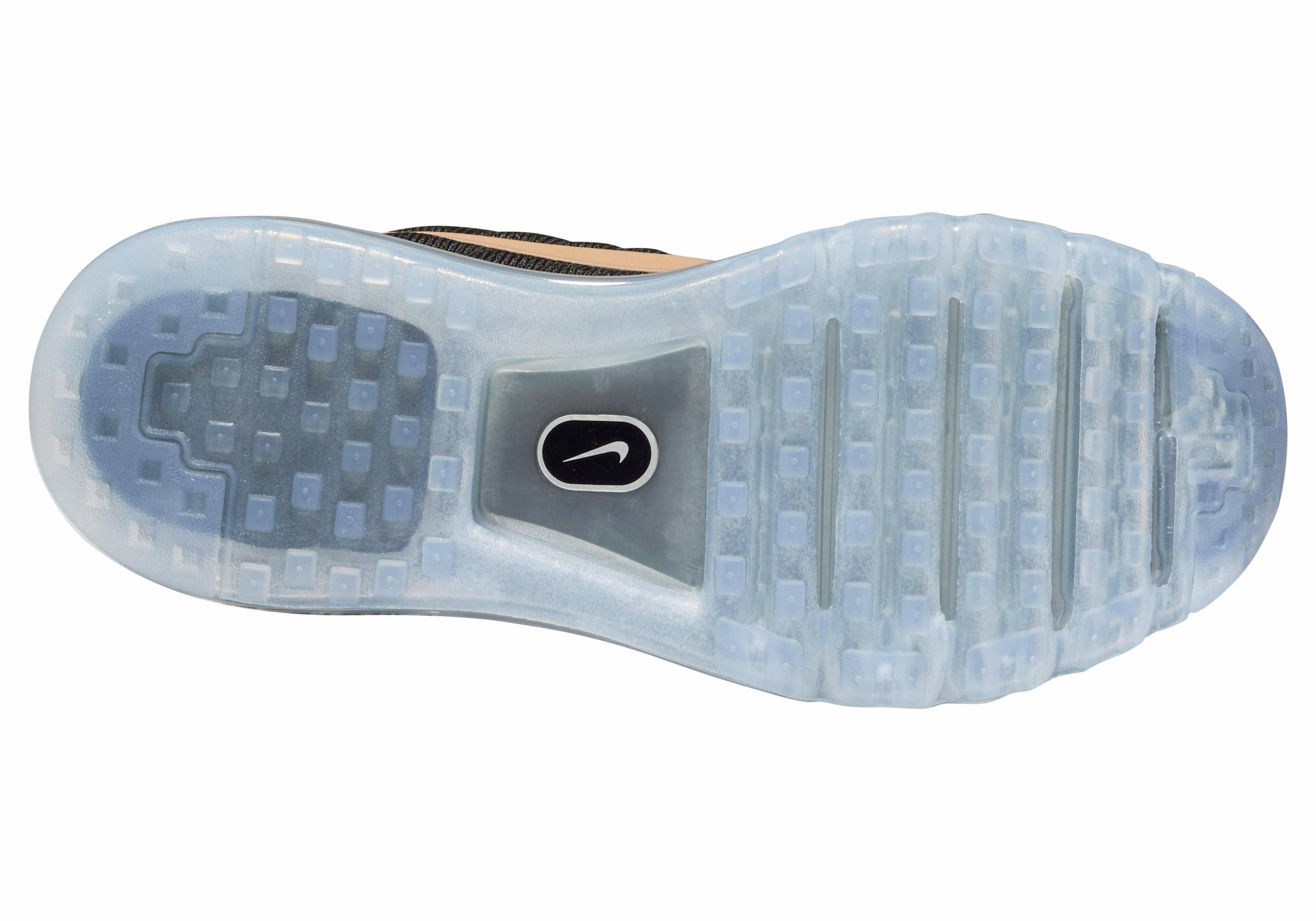 Nike 2017 roségoldfarben Max Straße Frau Schwarz Shoe Sportschuhe Air Running Fußbekleidung ZrZP4