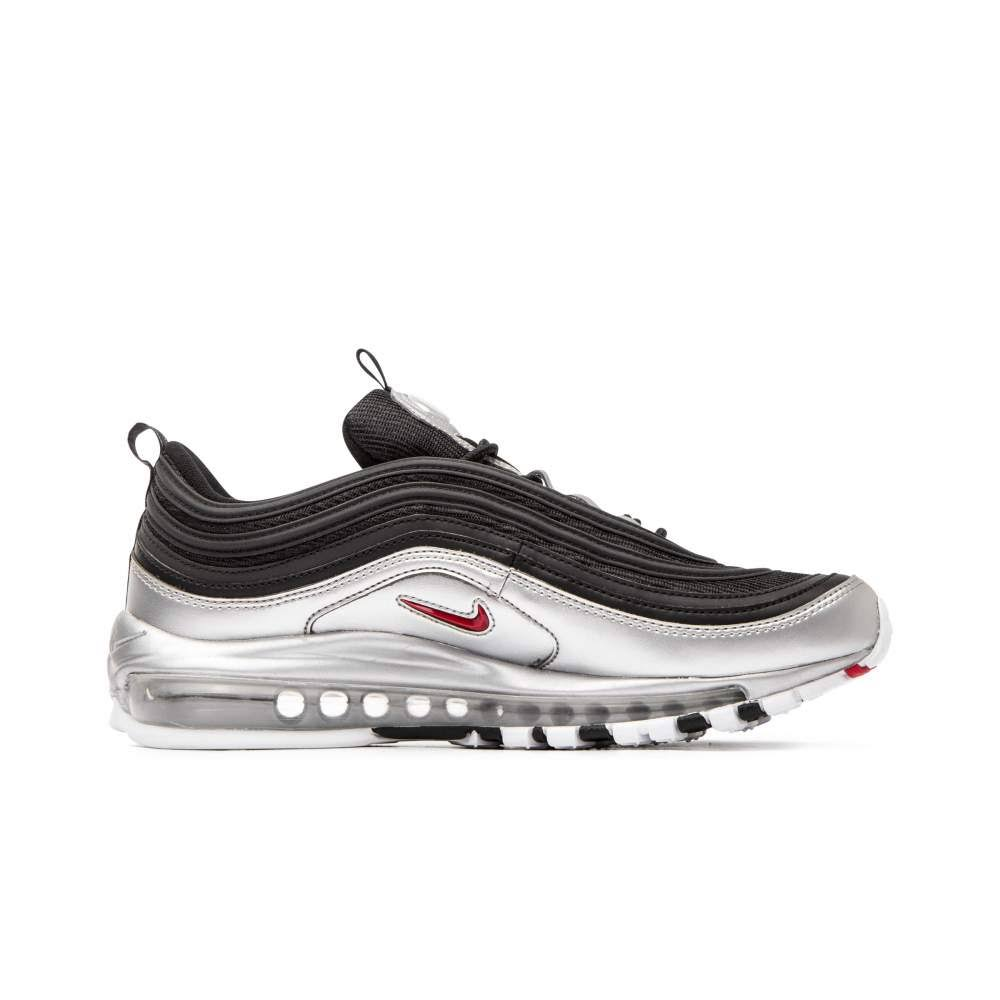 And Sneakers Air Max Nike Mesh Qs Us7 Faux Men 97 Leather Black 5xYq8d8nSB