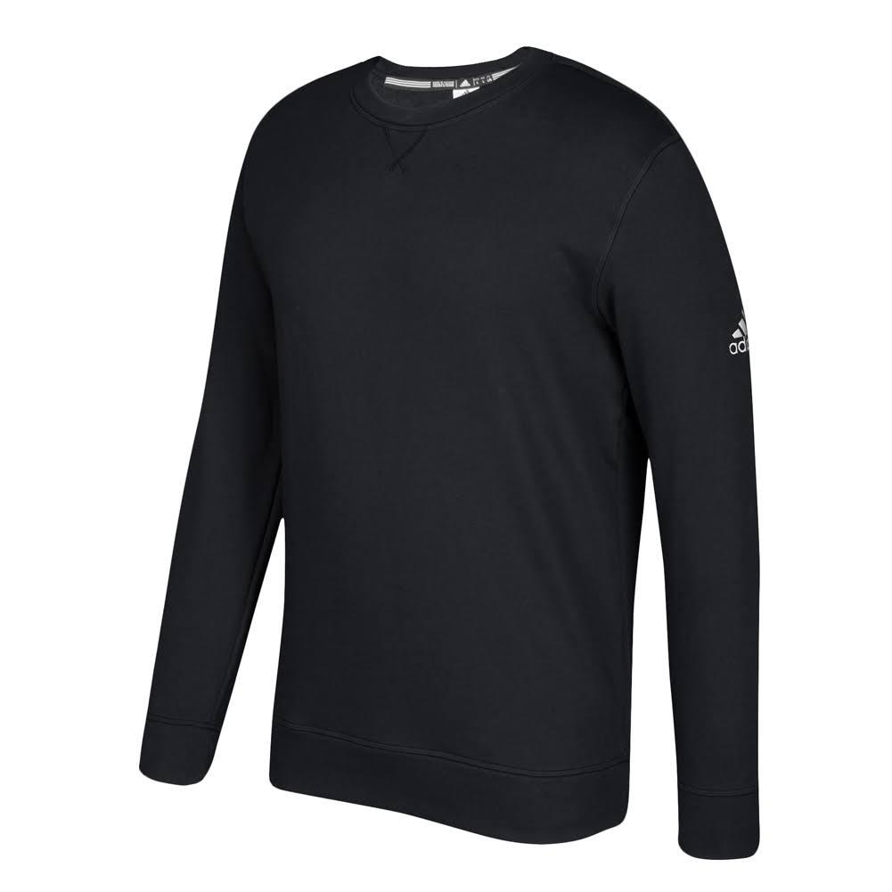 Fleece Crew 653f Adidas Climawarm Performance Blanco Negro q4CtFwtE