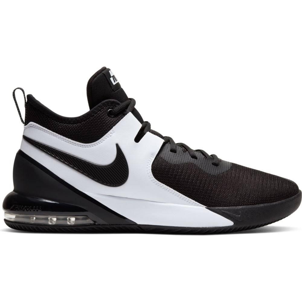 Nike Air Max Impact Mens Basketball Shoes - Black/Black-White