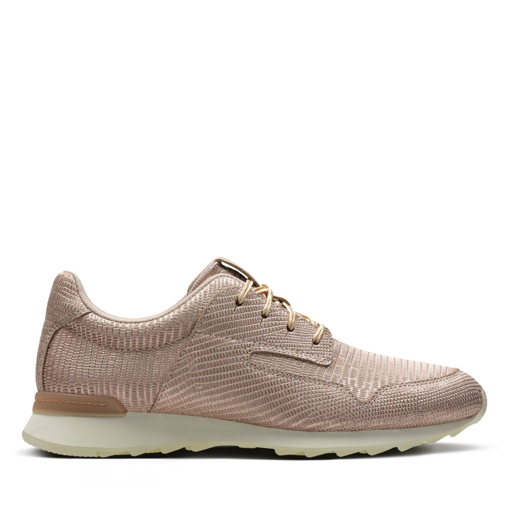 Mix fit maat Floura schoenen in standaard 6 Pink lederen Clarks Blush TlFK3J1c