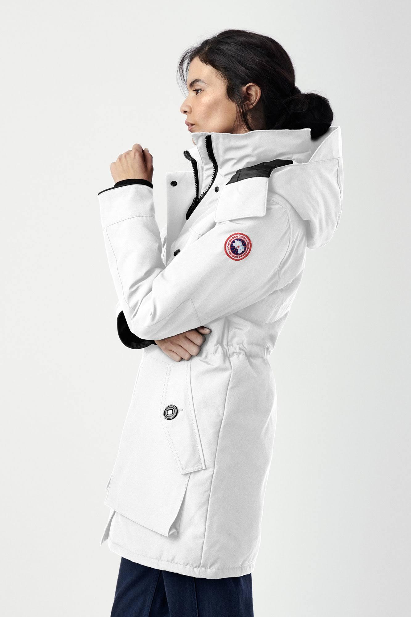 Espalda Capucha Cazadora Star Mujer Para North Gabriola Goose Con Reflectante White Xl Gorra Canada Y 0qxBZ5qA