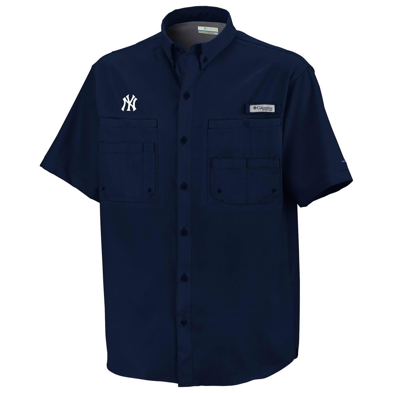 Xxl Navy Columbia shirt Größe Collegiate Tamiami qrXXxRw6
