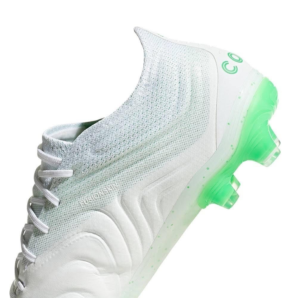 scarpe gomma ADIDAS Copa 19.1 fg bianco/verde  4GaK6v