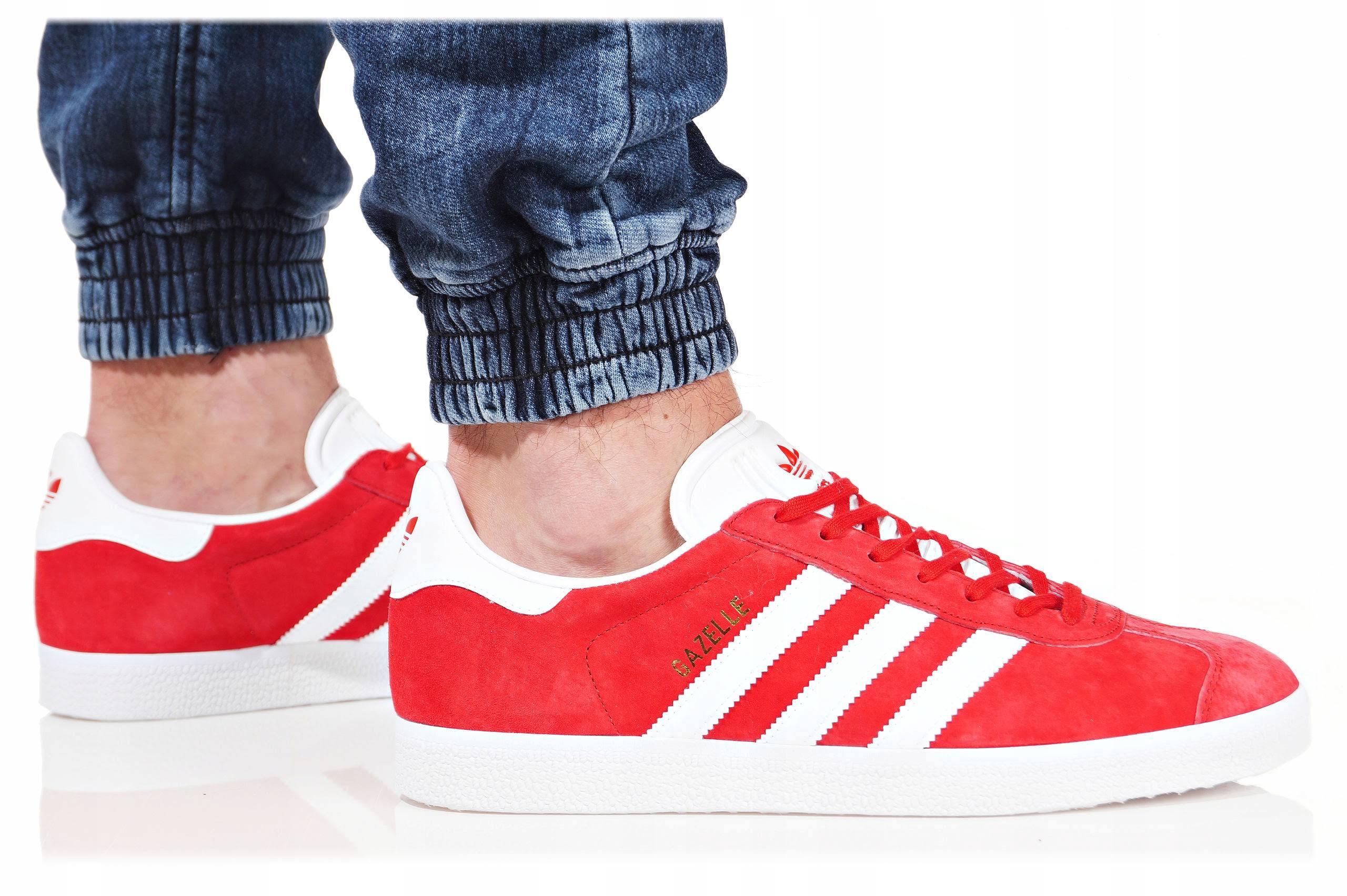 Originals Czerwony Czerwone 43 3 Buty Adidas Gazelle S76228 Męskie 1 gF6pFw