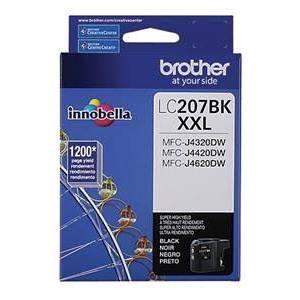 Brother B-LC207XXLBK (Single Cartridge)