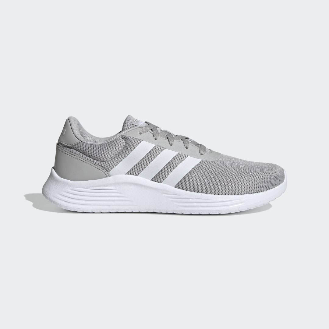 Adidas Lite Racer 2.0 Shoes - Mens - Grey