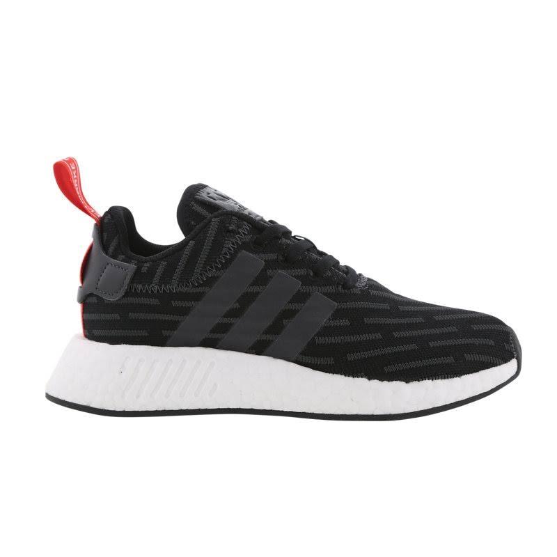 Mens Adidas NMD_R2 Black - UK 3.5