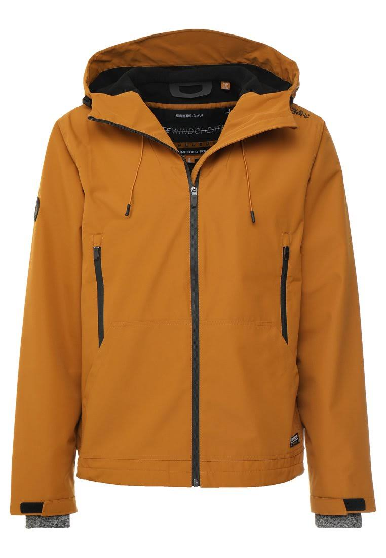Elite Hooded Mustard Yellow Windcheater L Superdry x1gwOqAS5O