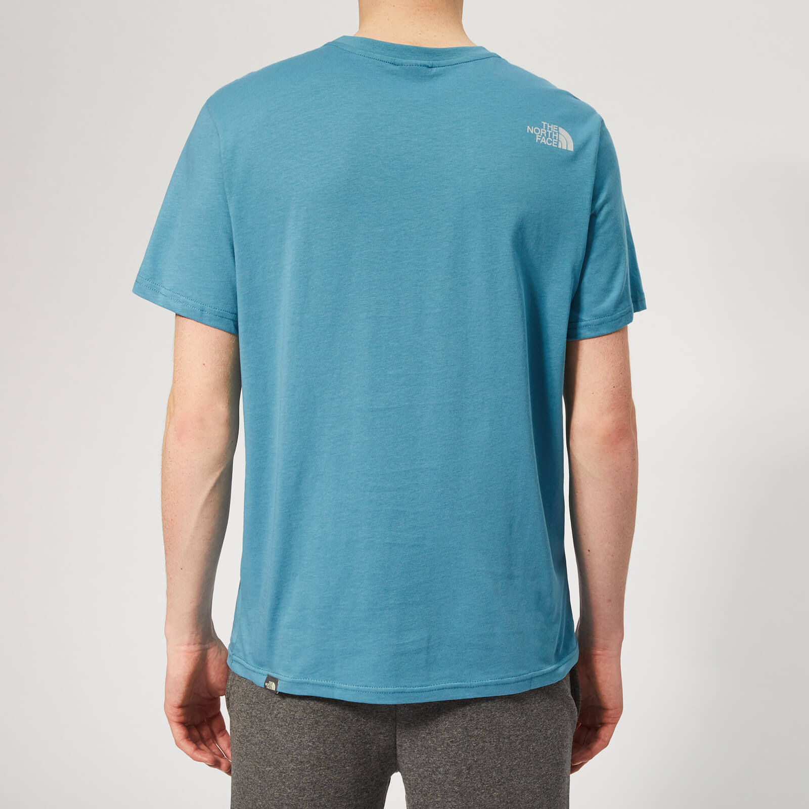 North Simple Turquesa Dome S Face Camiseta The Azul BqPtUt5w