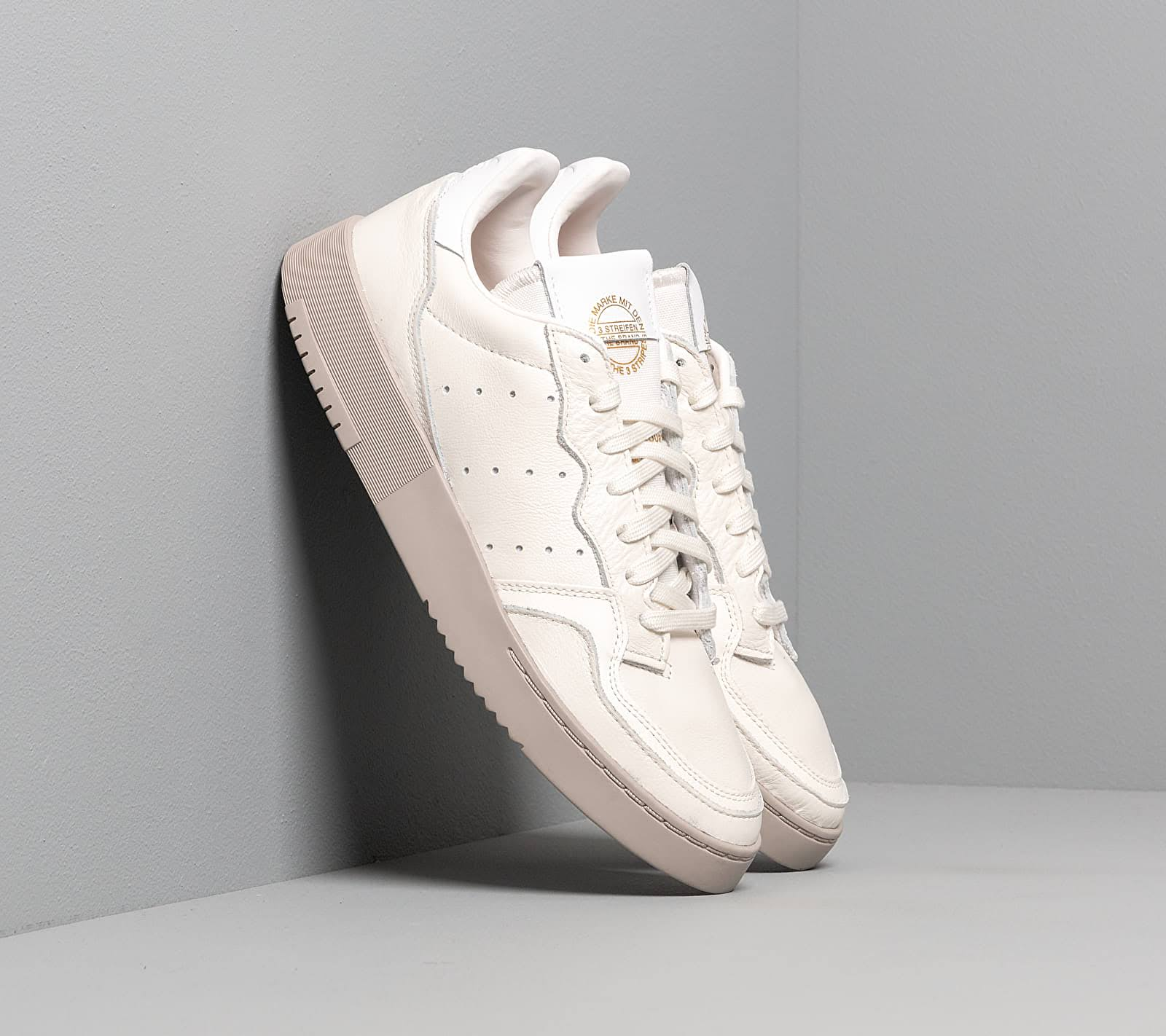 Men's adidas Supercourt Cloud White Cloud White White